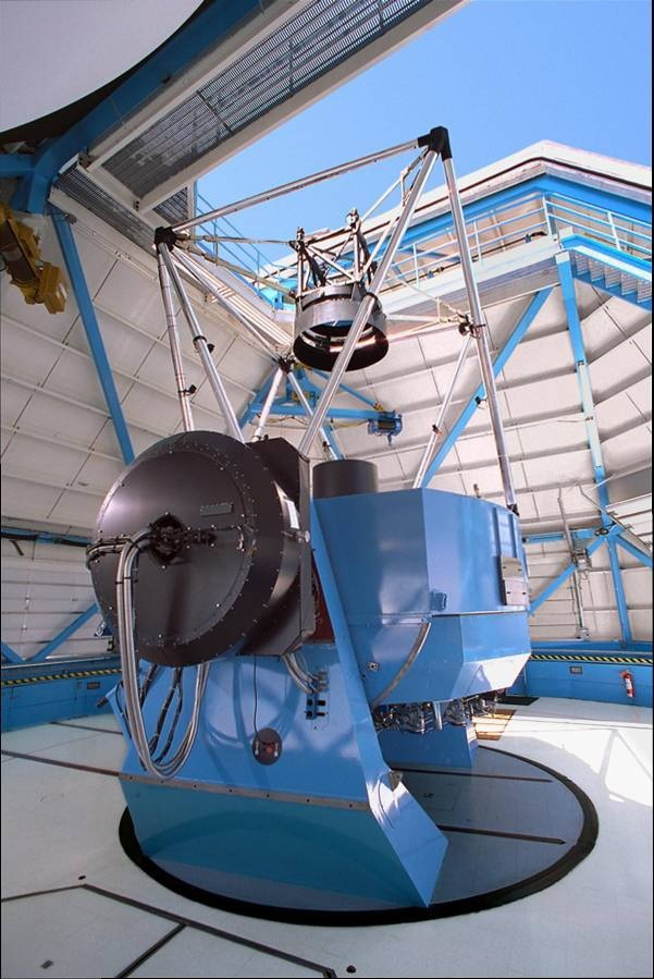 NOAO WIYN 3.5 meter telescope at Kitt Peak, AZ, USA interior