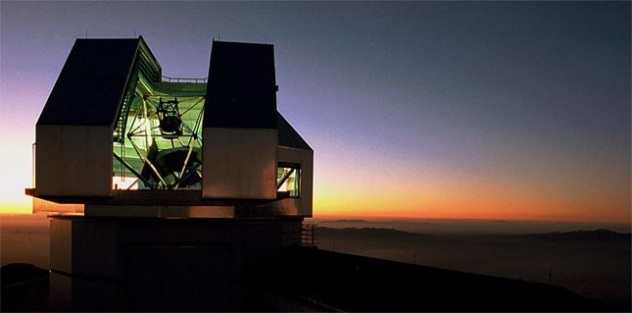 NOAO WIYN 3.5 meter telescope at Kitt Peak, AZ, USA