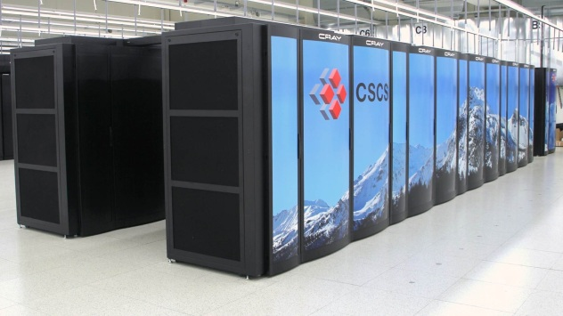 Piz Daint supercomputer of the Swiss National Supercomputing Center (CSCS)