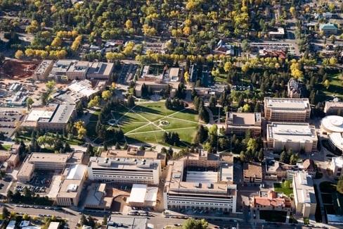 U Wyoming campus