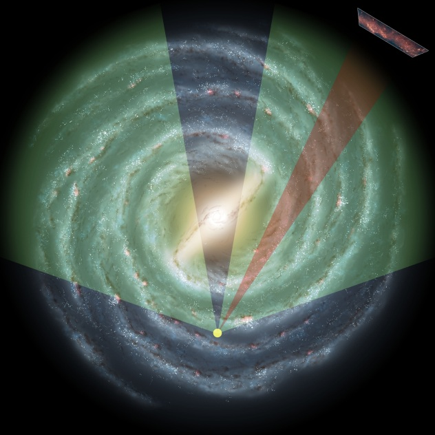 Zone of Avoidance. Spitzer.  GLIMPSE NASA JPL-Caltech R. Hurt SSC