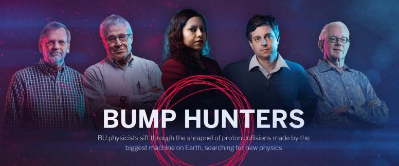 Boston U Bump Hunters Steve Ahlen, Kenneth Lane, Tulika Bose, Kevin Black, Sheldon Glashow