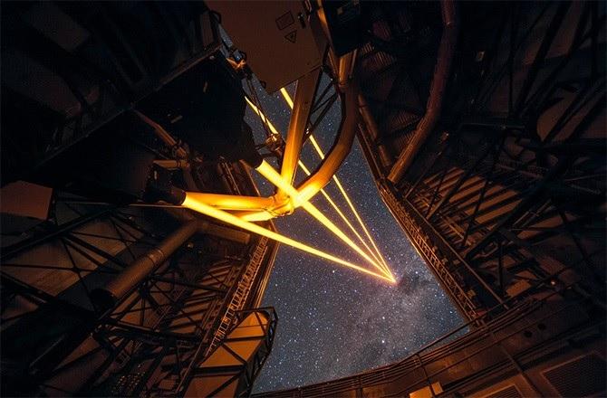 ESO VLT new laser