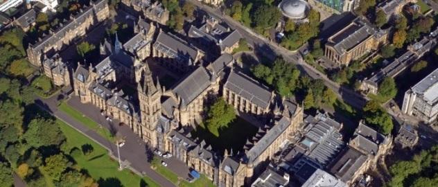 U Glasgow campus