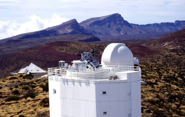 KIS operates the german solar telescopes at Teide Observatory on Tenerife (Spain)