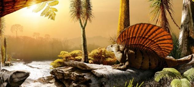 Before the dinosaurs Credit: Julius Csotonyi