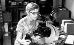 Vera Rubin measuring spectra (Emilio Segre Visual Archives AIPSPL)