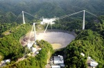 NAIC Arecibo Observatory operated by University of Central Florida, Yang Enterprises and UMET, Altitude 497 m (1,631ft)