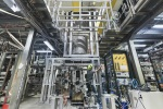 CERN ALPHA-g experiment being installed at CERN_s Antiproton Decelerator hall. (ImageCERN)