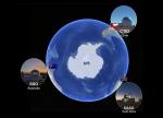 KMTNet telescope map