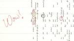 """WoW!"" signal from Ohio State Big Ear Radio Telescope Aug. 15,1977."