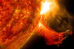 """<a href=""""http://sdo.gsfc.nasa.gov/"""">Solar flare. Credit NASA/SDO.</a>"""